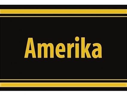 "1 x SAFE 1130 SIGNETTE Aufkleber selbstklebend "" AMERIKA """