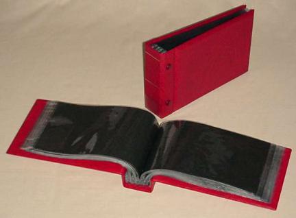 KOBRA G3 Rot Universal Briefealbum Sammelalbum Album 190 x 125 mm Für 100 Fotos Bilder Briefe FDC Ansichtskarten Postkarten Geldscheine Banknoten - Vorschau 2