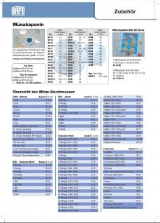 SAFE 5909 Holz Münzvitrinen Vitrinen 35 Fächer bis 35 mm Deutsche Demokratische Republik Für DDR 5 Mark Gedenkmünzen in Münzkapseln 29 - Vorschau 5