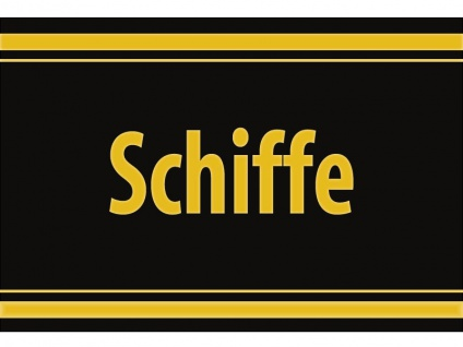 """1 x SAFE 1130 SIGNETTE Aufkleber selbstklebend """" Schiffe """""""