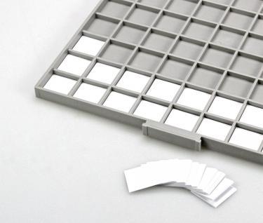 SAFE 6146 BEBA Beschriftungs Kartoneinlagen für Schuber Schubladen 6106 Münzboxen 6606 Maxi Münzkasten
