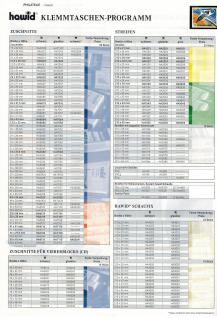 100 x HAWID HAS1200702 Auswahlkarten Einsteckkarten 120 x 70 mm 2 Streifen + Deckfolie - Vorschau 4