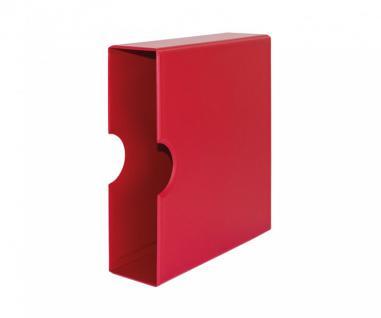 LINDNER S3541-1 Berry - Rot Schutzkassette Kassette Für S3540-1 Ringbinder Album PUBLICA M COLOR
