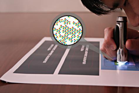 LINDNER 7115 LED Mini Mikroskop im taschenformat 50 x fache Vergrößerung - Vorschau 3