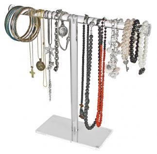 SAFE 73581 Acrylglas Design Schmuckständer Ständer im Galgen Style für Schmuck & Ketten & Armreifen