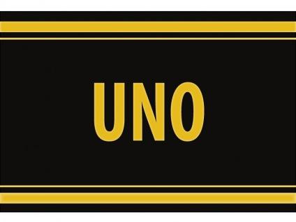 """1 x SAFE 1130 SIGNETTE Aufkleber selbstklebend """" UNO """""""