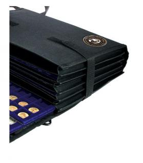 SAFE 196 Schwarze Nylon Münztasche Fächertasche COIN BAG mit 8 Fächern leer zum selbstbestücken - Vorschau 3