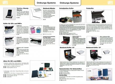 "SAFE 274 ALU Notebook - Netbook - Laptop Office Koffer "" Silver Star "" 14 / 15"" - Vorschau 5"