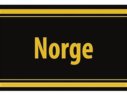 """1 x SAFE 1130 SIGNETTE Aufkleber selbstklebend """" Norge """" Königreich Norwegen"""