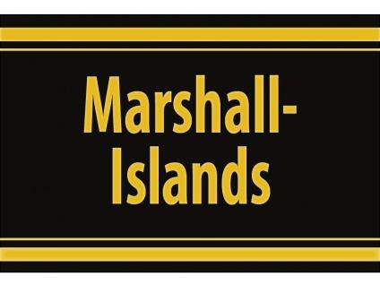 "1 x SAFE 1130 SIGNETTE Aufkleber selbstklebend "" Marshall Islands "" Marschall Inseln"