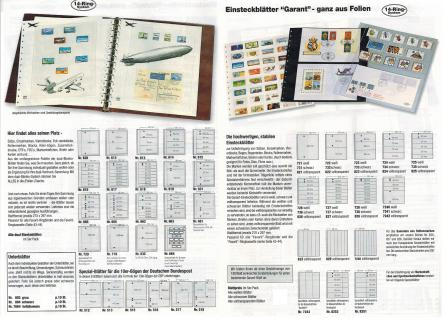SAFE 775 Yokama Favorit Ringbinder Album Braun mit 14 Ringsystem Für Postkarten Banknoten Briefe Briefmarken - Vorschau 3