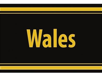 """1 x SAFE 1130 SIGNETTE Aufkleber selbstklebend """" Wales """""""