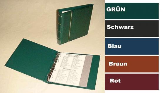 KOBRA FB Schwarz Münzalbum Album Ringbinder Klassic (leer) zum selbst befüllen