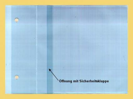 100 x KOBRA CD3E Ergänzungsblätter Ersatztaschen für CD's DVD Blue Ray für das Kobra Album CD3 - Vorschau 1