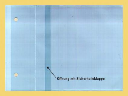 50 x KOBRA CD3E Ergänzungsblätter Ersatztaschen für CD's DVD Blue Ray für das Kobra Album CD3