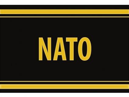 "1 x SAFE 1130 SIGNETTE Aufkleber selbstklebend "" Nato """