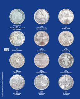1 x SAFE 7310-3 TOPset Erganzungsblatt Münzblätter + Vordruckblatt Deutsche 10 Euromünzen 2006-2008