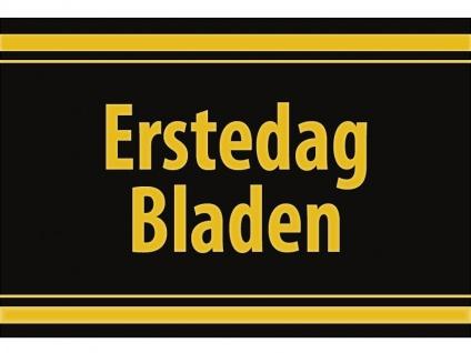 """1 x SAFE 1130 SIGNETTE Aufkleber selbstklebend """" Erstedag Bladen """""""