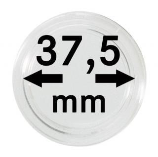 10 LINDNER Münzkapseln / Münzenkapseln Capsules Caps 37, 5 mm für Münzen zb. 1 Unze PhilharmonikerI Gold / Silber 2250375