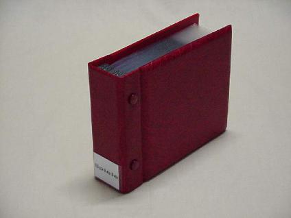 KOBRA CD3 Rot CD Sammelalbum Ringbinder Album + 25 Hüllen + Verzeichnis für 25 CD's DVD Blue Ray - Vorschau 3