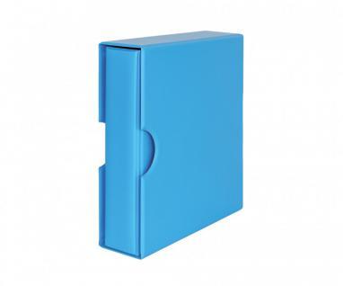 LINDNER S3542-5 Nautic - Blau MULTI COLLECT Ringbinder Album Ordner PUBLICA M COLOR + Kassette (leer) Für Briefmarken Münzen Bankoten zum selbst befüllen
