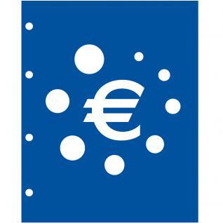 1 x SAFE 7856 TOPset Münzalbum Münzhüllen Ergänzungsblätter für Euromünzen Kursmünzensatz KMS 1 Cent bis 2 Euromünze