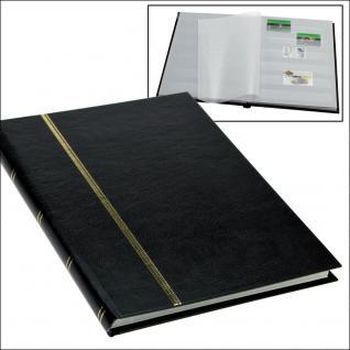 SAFE 131-5 Briefmarken Einsteckbücher Einsteckbuch Einsteckalbum Einsteckalben Album im Buchformat A5 Schwarz 16 weissen Seiten