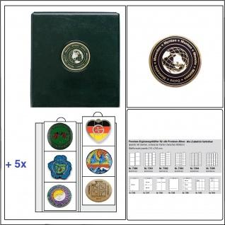SAFE 7369 PREMIUM Sammelalbum Album Ringbinder Sammelbuch UNIVERSAL Geocoins & TBS Travel Bugs + 5x Hüllen 7390 bis 70 mm Für 30 Geocoins & Bugs & Geocaching erweiterbar