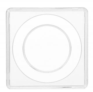 2 x SAFE 3127-5 SAFE Quadratische Münzkapseln Münzdosen Square 50x50 mm glasklar für Münzen bis 27, 5 mm - Ideal für 5 Euro Planet Erde - Klimazonen & 2 DM & 2 Reichsmark - Vorschau 2