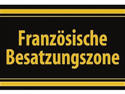 """1 x SAFE 1130 SIGNETTE Aufkleber selbstklebend """" Französische Besatzungszone """""""