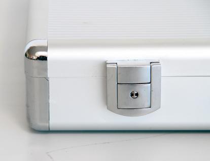 "SAFE 274 ALU Notebook - Netbook - Laptop Office Koffer "" Silver Star "" 14 / 15"" - Vorschau 3"