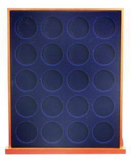 SAFE 6837 Nova Exquisite Holz Münzboxen 20 Runde Fächer 37, 5mm Für 10 - 20 Euro in Münzkapseln 32, 5 PP - Vorschau 2