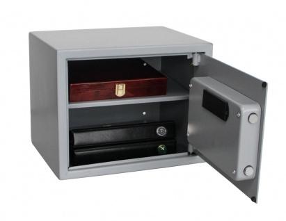 """SAFE 3993 Security Tresor """" Midi """" Möbeltresor Wandtresor Schliessfach Banksafe mit elektonischem Zahlenschloss 380x300x300 mm & Fingerprint - Vorschau 3"""