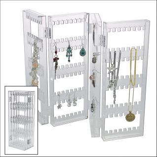 SAFE 73583 Acrylglas Design Schmuckständer Ständer im Paravent Style für Schmuck & Ketten & Ohrringe - Vorschau 1
