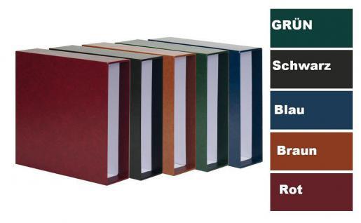 KOBRA G19K Grün - Schutzkassette - Kassette Für die Ringbinder Sammelalbum Maxi G19B