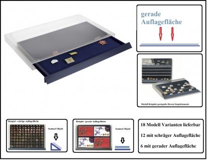 SAFE 6460 Sammelbox Stapelelement für bis zu 80 Pins & Buttons & Anstecknadeln & Militaria & Mineralien & Orden