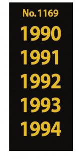SAFE 1169 SIGNETTEN Aufkleber Jahreszahlen Year dates 1990 1991 1992 1993 1994