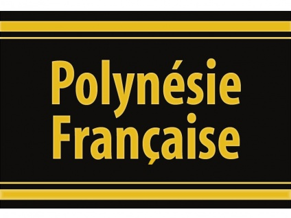 "1 x SAFE 1130 SIGNETTE Aufkleber selbstklebend "" Polynesie Francaise "" Französich Polynesien"