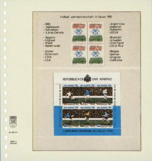 10 x LINDNER 802211P T-Blanko-Blätter Blankoblatt 18-Ring Lochung - 2 Taschen 96 / 120 x 189 mm - Vorschau 2