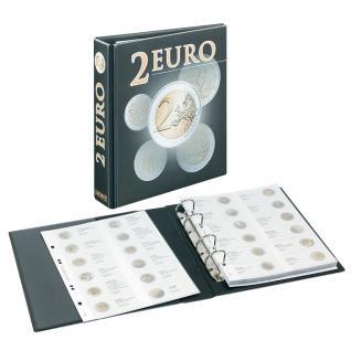 LINDNER 3535M Münzalbum PUBLICA M 2 Euro - Vordruckalbum 2004 - 2015