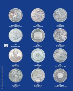 1 x SAFE 7310-1 TOPset Erganzungsblatt Münzblätter + Vordruckblatt Deutsche 10 Euromünzen 2002-2004