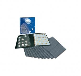 SAFE 8555 Münzalbum Designo MODERN-STYLE + 10 Münzblättern Mixed für 232 Münzen