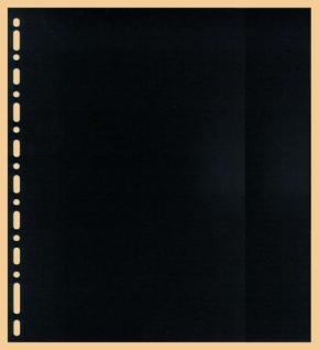 10 x KOBRA G14C Zwischenblätter ZWL Schwarzer Karton Für Ringbinder Album G12P - G12S - G14 - P - S