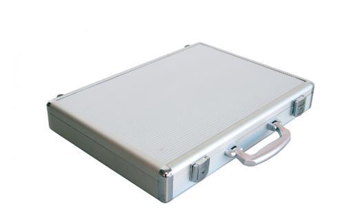 "SAFE 274 ALU Notebook - Netbook - Laptop Office Koffer "" Silver Star "" 14 / 15"" - Vorschau 4"