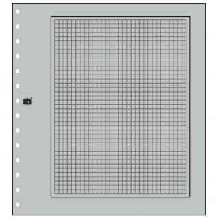 10 x SAFE 681 Karton Blankoblätter Favorit Grau Mit schwarzem Rand und zartgrauem Netzdruck