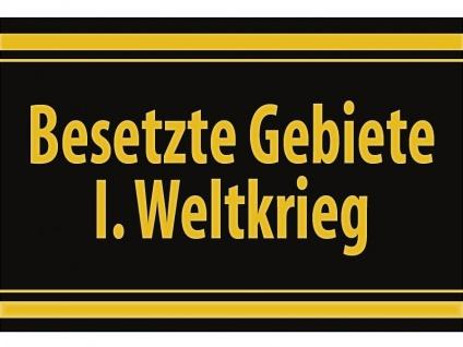 """1 x SAFE 1130 SIGNETTE Aufkleber selbstklebend """" Besetzte Gebiete I. Weltkrieg """""""