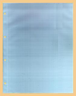 10 x KOBRA G51E Ergänzungsblätter DIN A4 1 Tasche 220x306 mm Für DIN A4 Briefe gr. Banknoten Urkunden Fotos Bilder