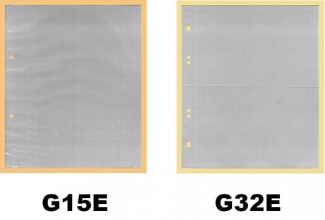 KOBRA G30 Grün Postkartenalbum Sammelalbum + 40 glasklaren Blättern G32E für 160 Banknoten - Ansichtskarten - Postkarten - Vorschau 4