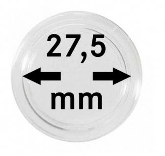 Lindner SO2364BS-2K Münzkassette NERA M BLACK SAMT für 30x Deutsche 5 Euro Gedenkmünzen Blauer Planet & Klimazonen 2016 - 2021 + 30 Münzkapseln 27, 5 mm - Vorschau 3