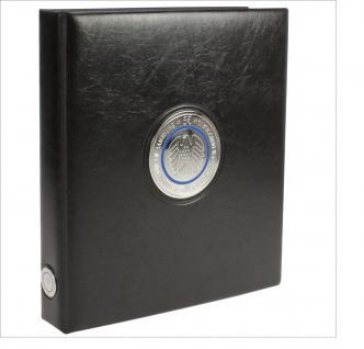 SAFE 7360-0 PREMIUM Münzalbum Sammelalbum Ringbinder Deutsche 5 Euro Münzen Blauer Planet Erde Gedenkmünzen 2016 - 2021 leer zum selbst befüllen